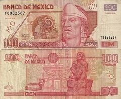 billet-100-pesos-2008-mexique