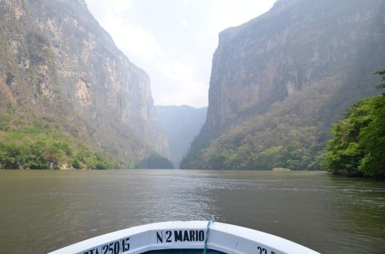 Le canyon de Sumidero