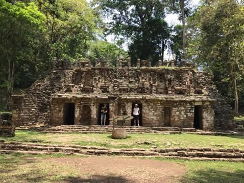 Un site archéologique dans la forêt de Lacandona