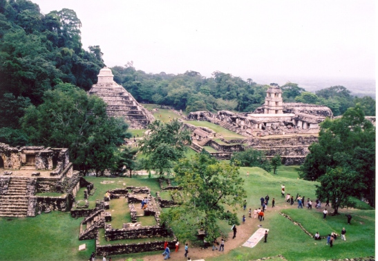 Le site archéologique de Palenque