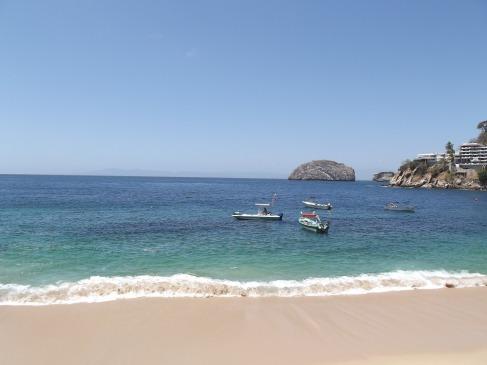 Elle est pas belle la plage de Puerto Vallarta ?
