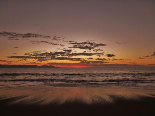 Le coucher de soleil à Puerto Vallarta